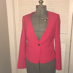 Old Navy Red single button lined dress jacket♥️♥️